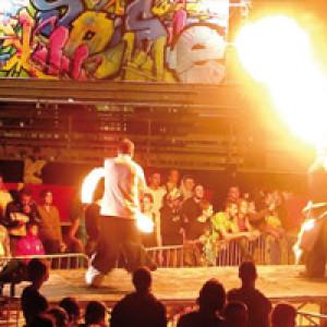 Des évènements sportifs et culturels toute l'année dont le Festipop.
