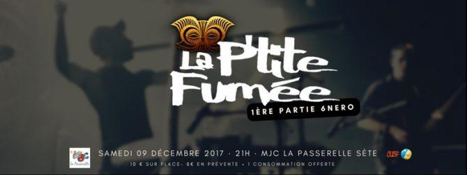 Concert La P'tite Fumée